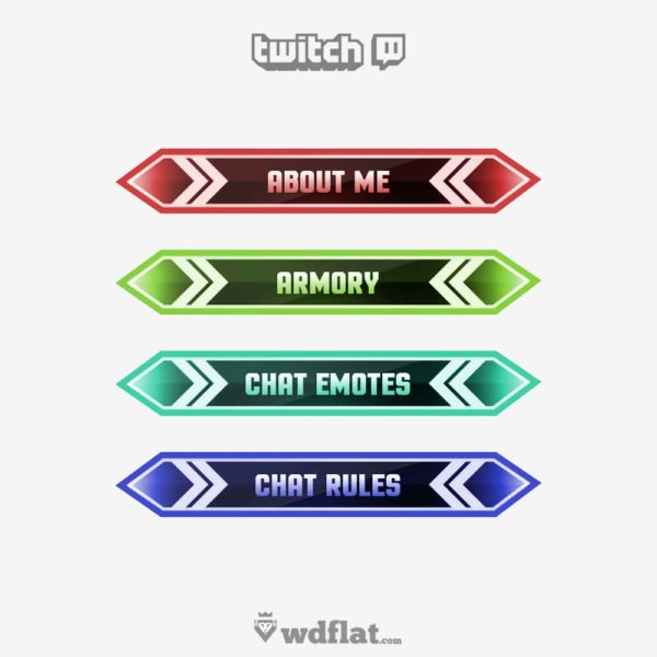 Rainbow – preview Twitch Panels