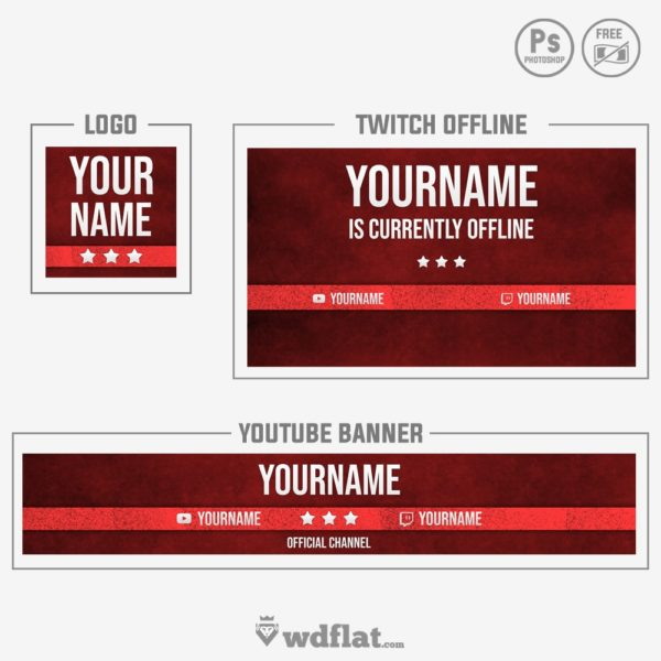 Red Neutral – banner youtube