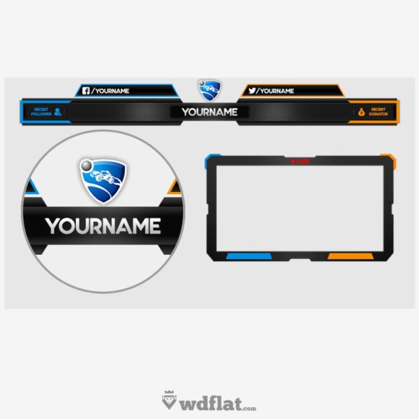 Rocket League – Overlay – preview