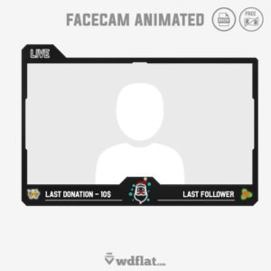 Santa Claus - facecam animated
