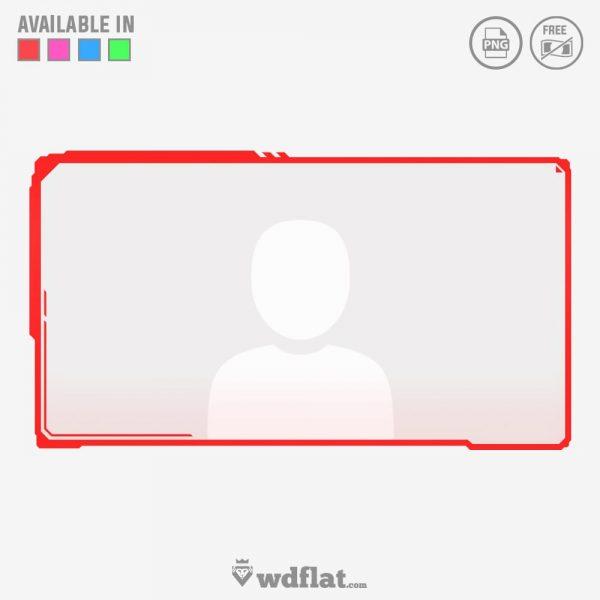 Sci-Fi – facecam game overlay