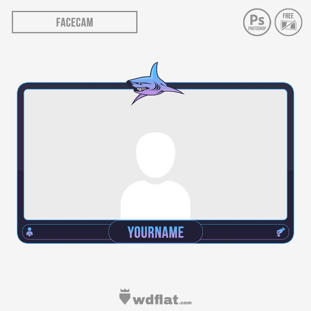 Shark stream facecam