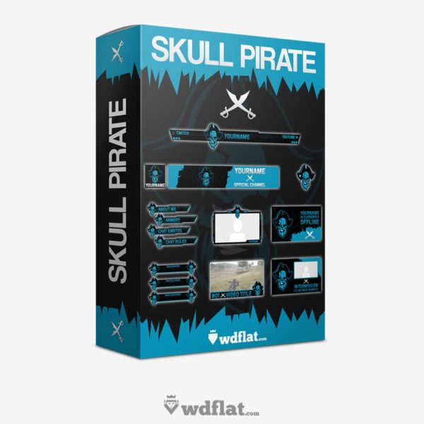 Skull Pirate – Box