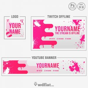 Splash Paint - free banner pack
