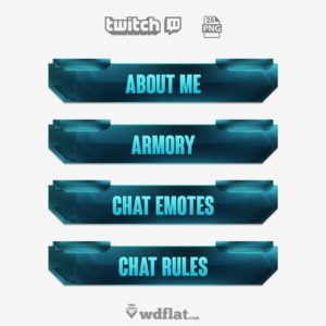 StormXtreme - twitch panels template