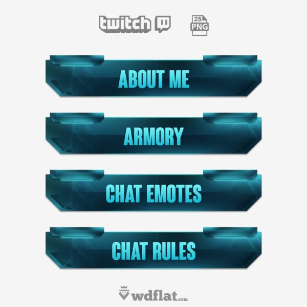StormXtreme – twitch panels template