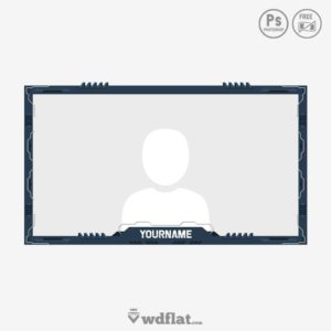 Technology Cam - facecam template