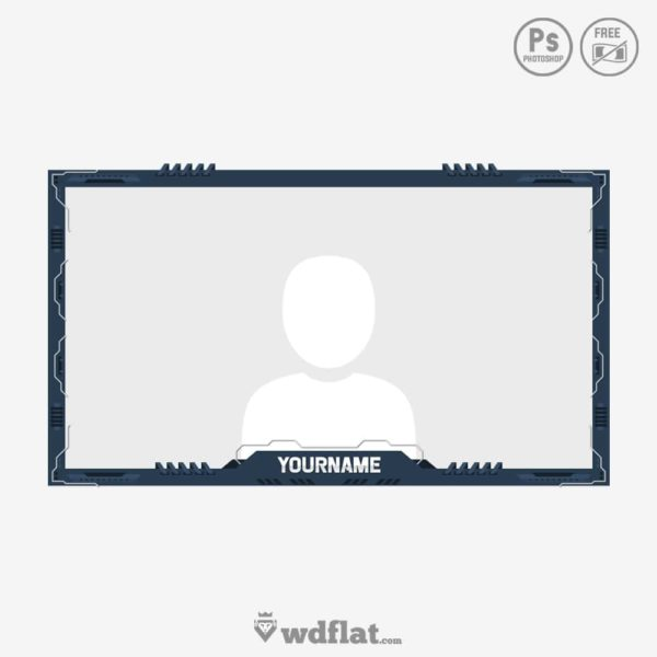 Technology Cam – facecam template