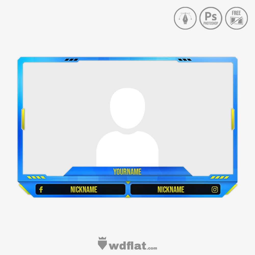 Thorn design for webcam border