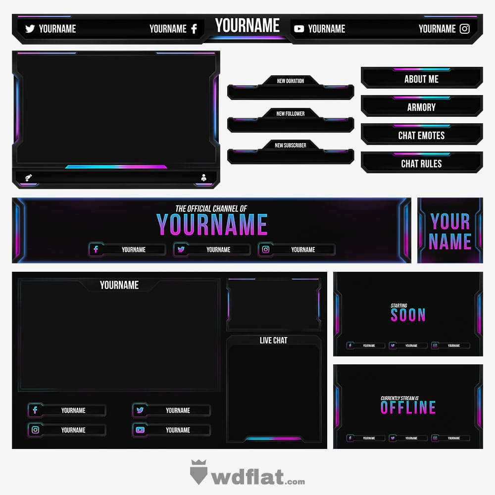 Thunder-Strike Stream Pack
