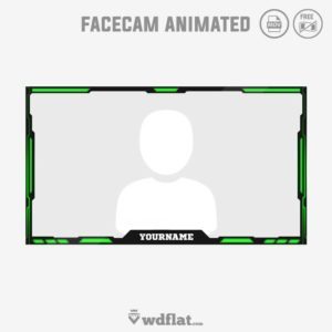 Toxic Animated - webcam overlay