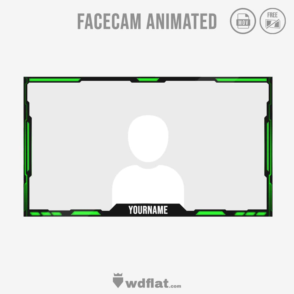 Toxic Animated - webcam overlay streaming