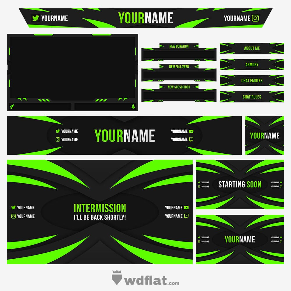 Toxic-Designs Stream Pack
