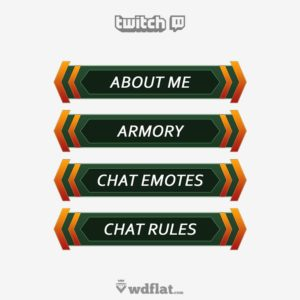 Verpo-Panels - preview Twitch Panels