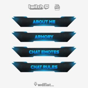 Windweaver - twitch panels free