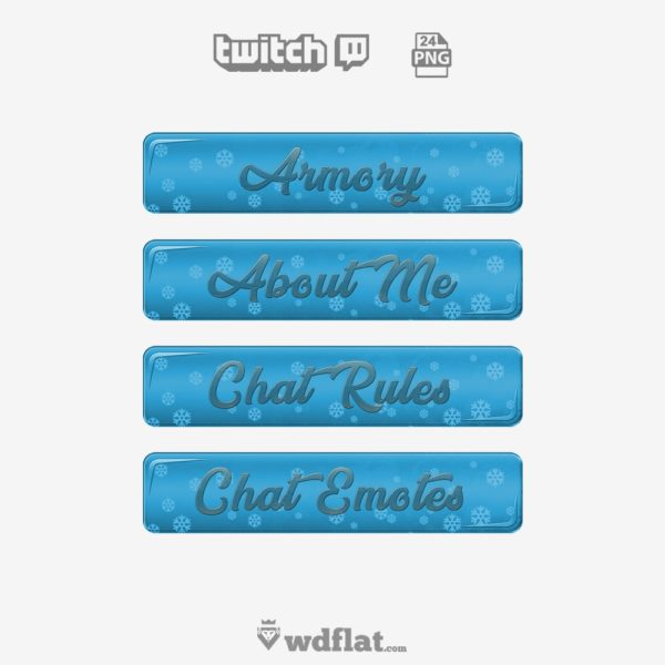 Winter Ice – preview Panels Twitch Images