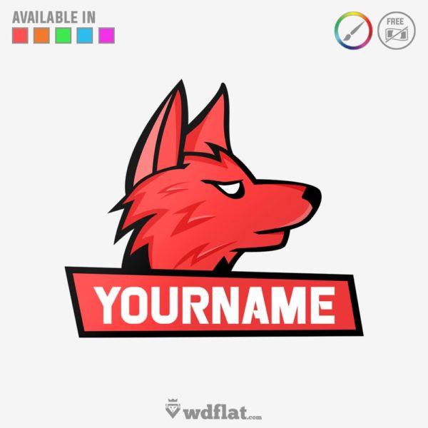 Wolf-Esports – preview logo e-sports