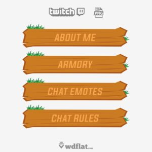 Wood Panels - twitch panels