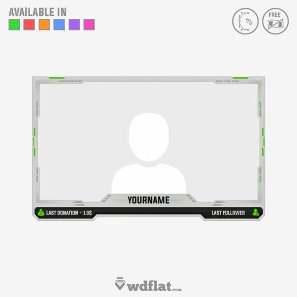 Wrathful Visage – online facecam template