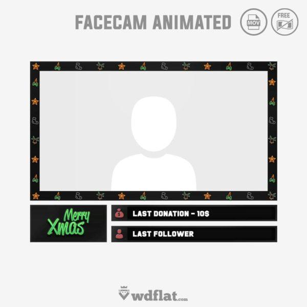 Xmas Animated – free facecam